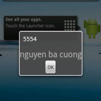 Bài 2- Broadcast Receiver trong Android, đăng ký trong AndroidMaintifest và chương trình nhận tin nhắn